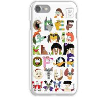 Child of the 70s Alphabet iPhone Case/Skin