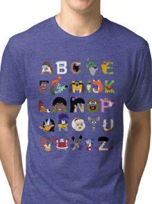 Child of the 70s Alphabet Tri-blend T-Shirt