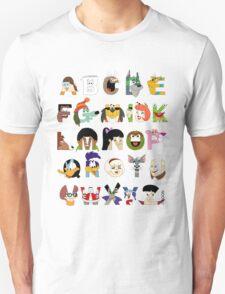 Child of the 70s Alphabet Unisex T-Shirt