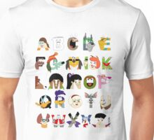 Child of the 70s Alphabet Unisex T-Shirt