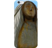 Statue at Peel Castle iPhone Case/Skin
