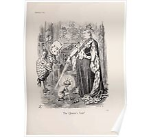 Cartoons by Sir John Tenniel selected from the pages of Punch 1901 0159 The Queen's Year Poster