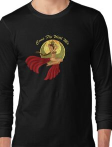 Slave War Pin Up Long Sleeve T-Shirt