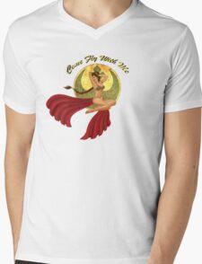 Slave War Pin Up Mens V-Neck T-Shirt