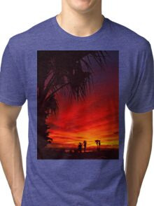 Saturated Colors Tri-blend T-Shirt