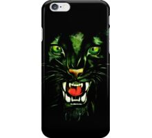 Fierce and Power Black Panther iPhone Case/Skin