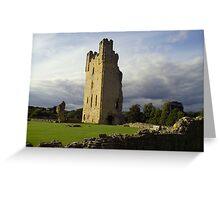 Helmsley Castle UK Greeting Card