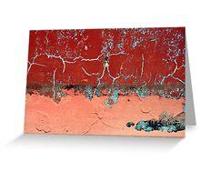 red sky in morning, sailors take warning.... Greeting Card