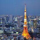 tokyo tower by nahomiyoshizawa