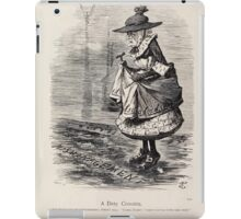 Cartoons by Sir John Tenniel selected from the pages of Punch 1901 0134 A Dirty Crossing iPad Case/Skin