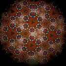 Mandala Modernista Tiles  0532 by Mario  Scattoloni