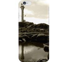 Cape Forchu Lighthouse, Yarmouth, NS iPhone Case/Skin