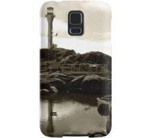 Cape Forchu Lighthouse, Yarmouth, NS Samsung Galaxy Case/Skin