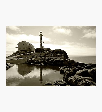Cape Forchu Lighthouse, Yarmouth, NS Photographic Print