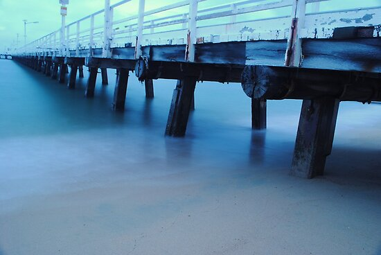 Under the boardwalk by Debbie Thatcher