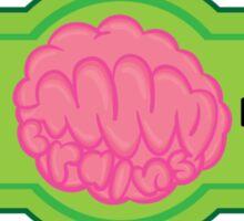 MMM Brains Sticker