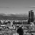 Madrid, city view by OlurProd