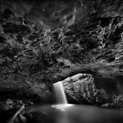 Natural Arch B&W by Tim  Geraghty-Groves