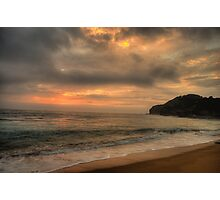 Awakening - Warriewood Beach, Sydney - The HDR Experience Photographic Print