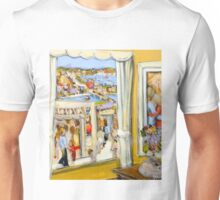 A private moment : beyond the curtain Unisex T-Shirt