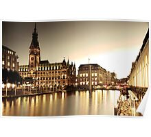 Hamburg, City Hall Poster