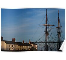 Tall Ships of Charlestown Poster
