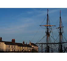 Tall Ships of Charlestown Photographic Print