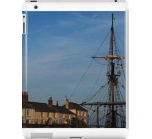 Tall Ships of Charlestown iPad Case/Skin