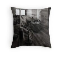 "The Ghosts of Alcatraz ""Jim Quillen "" Throw Pillow"