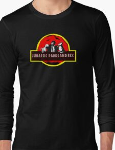 jurassic parks and rec Long Sleeve T-Shirt