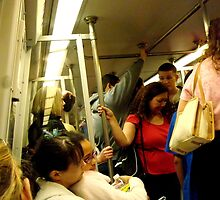 Riding the Metro by ctheworld