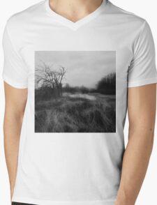 landscape bourgoyen Mens V-Neck T-Shirt