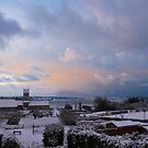 Norman Morning Snow  by AmyRalston