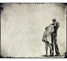 The Power of a Kiss Photographic Print