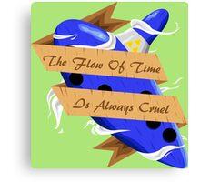 The Legend of Zelda (The Flow of Time is Always Cruel) Canvas Print