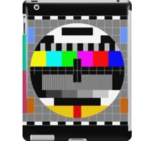 Calibration Test Card, TV monitor film, video geek iPad Case/Skin