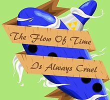 The Legend of Zelda (The Flow of Time is Always Cruel) by quinncinati