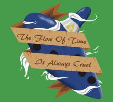 The Legend of Zelda (The Flow of Time is Always Cruel) One Piece - Short Sleeve