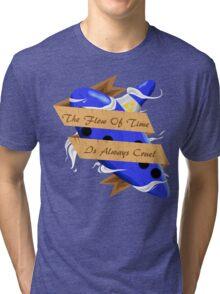 The Legend of Zelda (The Flow of Time is Always Cruel) Tri-blend T-Shirt