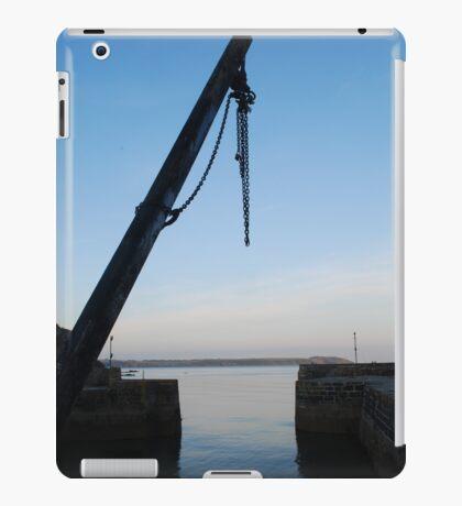 Hoist at Charlestown Harbour iPad Case/Skin
