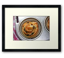 Delicious Snail Framed Print