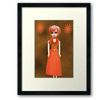♥•.¸¸.ஐ YOU ARE A TOUCH OF SUNSHINE CARD/PICTURE ♥•.¸¸.ஐ Framed Print