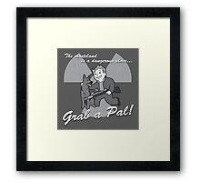 """Let's go, Pal"" Framed Print"