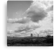 landscape with giants Canvas Print