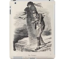 Cartoons by Sir John Tenniel selected from the pages of Punch 1901 0088 The Tempter iPad Case/Skin