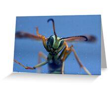 Alien Invader Greeting Card