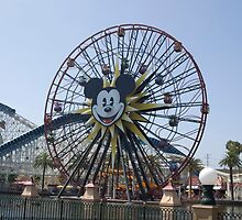 Mickey's Fun Wheel by elstoleno