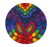 Heart Vibrations Photographic Print