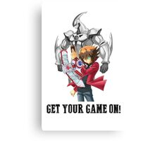 Get your game on! Canvas Print