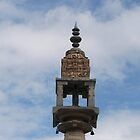Stupam stands tall and high in the sky by Lokesh Kumar S